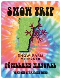 750ml Snow Trip Petillant FRONT