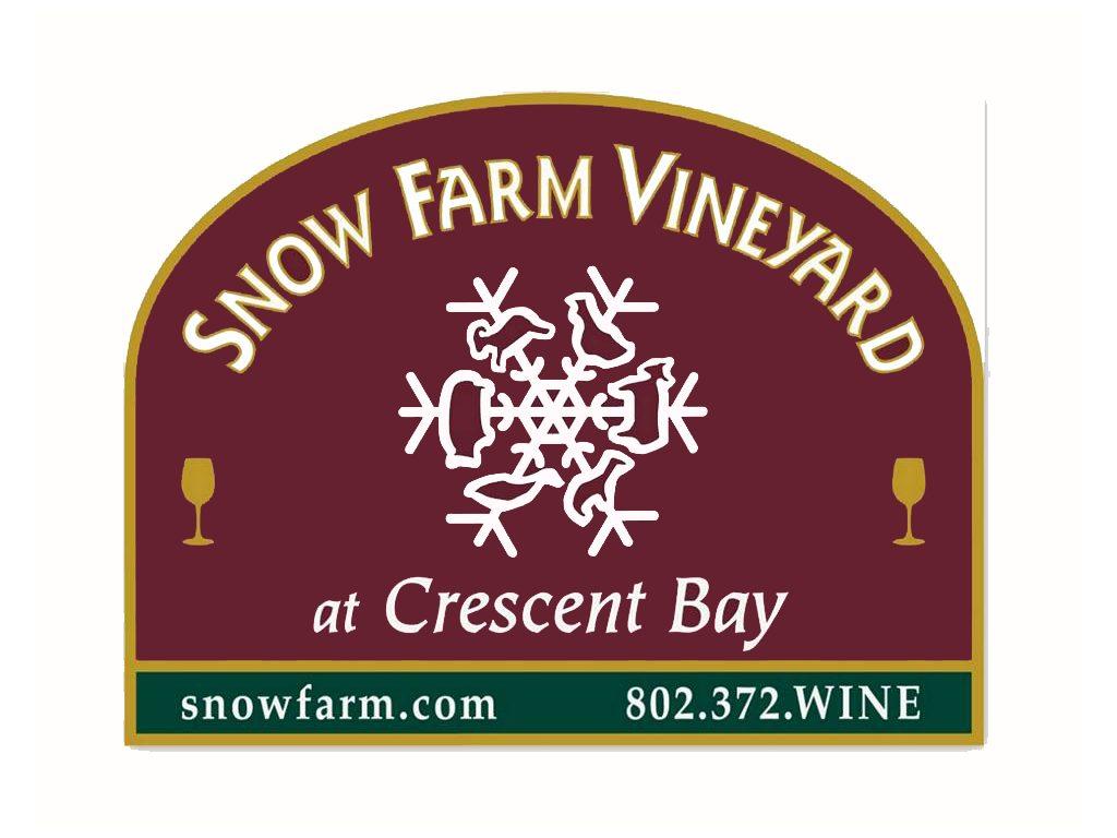 Snow Farm Vineyard South Hero VT Logo